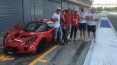 Giornata ricca di forti emozioni e di tanti piloti a Monza per la Lotus Exige 240R de IL TUO SOGNO IN PISTA