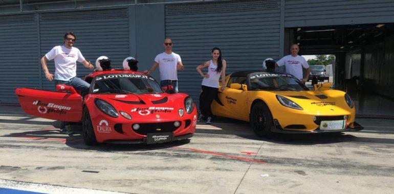 Sei pronto a guidare una Lotus nel circuito della F1 di Monza?
