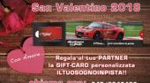 San Valentino 2018 con IL TUO SOGNO IN PISTA